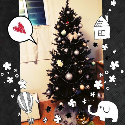 クリスマスツリー買いました★( *´艸`)